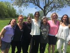 doula retreat group photo